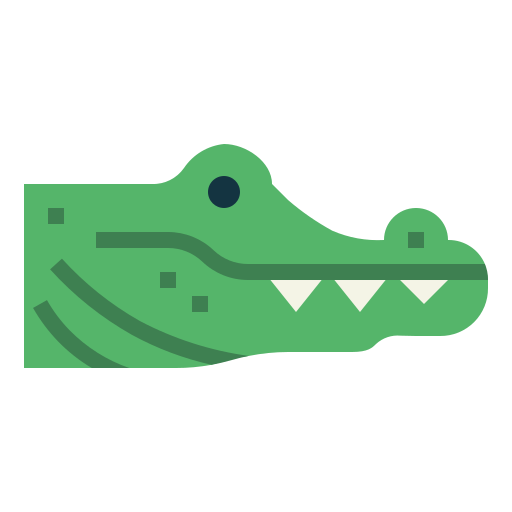 Seeing crocodile