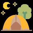 Glamping or yurt