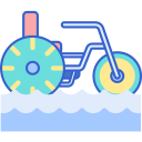 Taking water tricycle