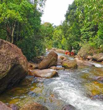 Anlong Thom Waterfall